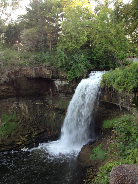 a date to minnehaha falls #project365