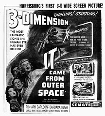 """""""And at a deadly pace......"""" IT CAME FROM OUTER SPACE (1953)"""
