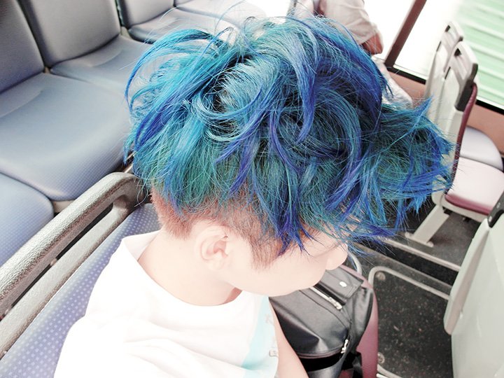 typicalben blue hair 3