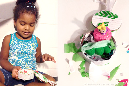 diy mini fiesta pinata with a surprise