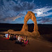 "'NightScape' workshop at Delicate Arch by IronRodArt - Royce Bair (""Star Shooter"")"