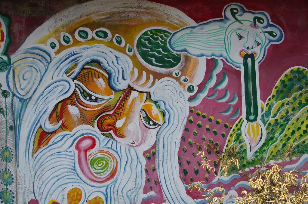 白樹社區彩繪