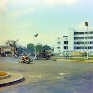 Bùng binh Ngã 6 Dân Chủ, Sài Gòn 1968 - 69