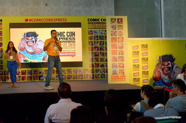 new comic launch at comic con