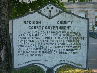 Madison County Historic Marker