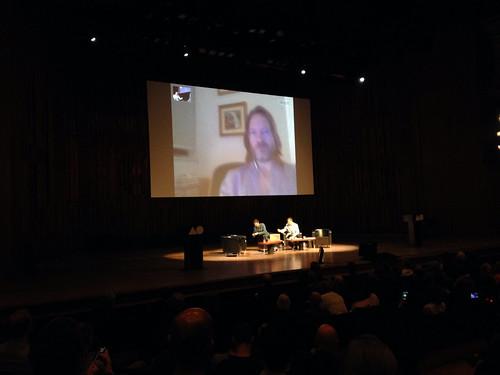 AGI Open - Jan Wilker & Hjalti Karlsson over Skype, worked surprisingly well