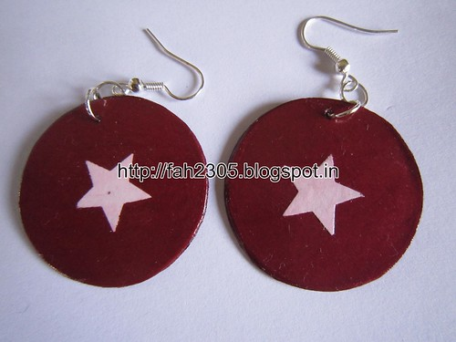 Handmade Jewelry - Paper Punch Earrings (8) by fah2305