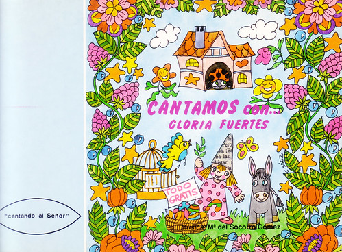 Cubierta de Cantamos con Gloria Fuertes