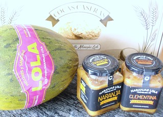 Diversos productos de Naranjas Lola.