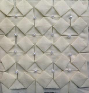Block 11: beaded origami