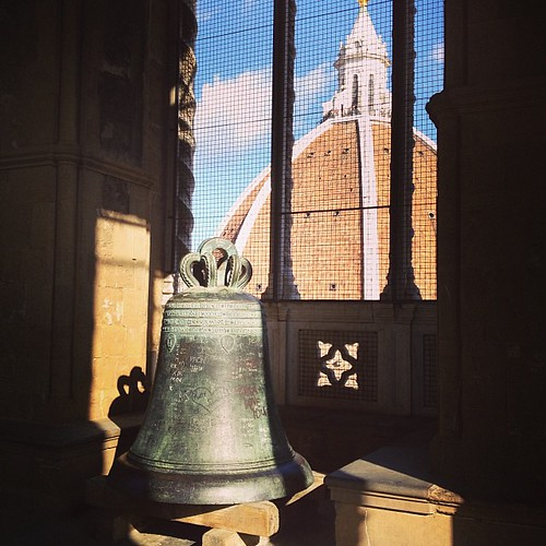 El Duomo from the bell tower. #florence #italy #travel