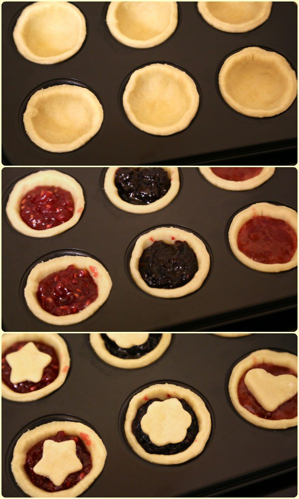 Jam tarts construction
