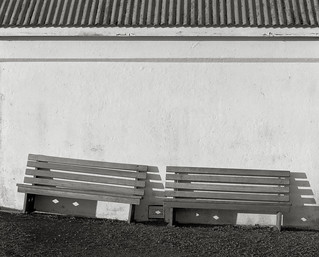 Benches, Heceta Head Lighthouse, Oregon