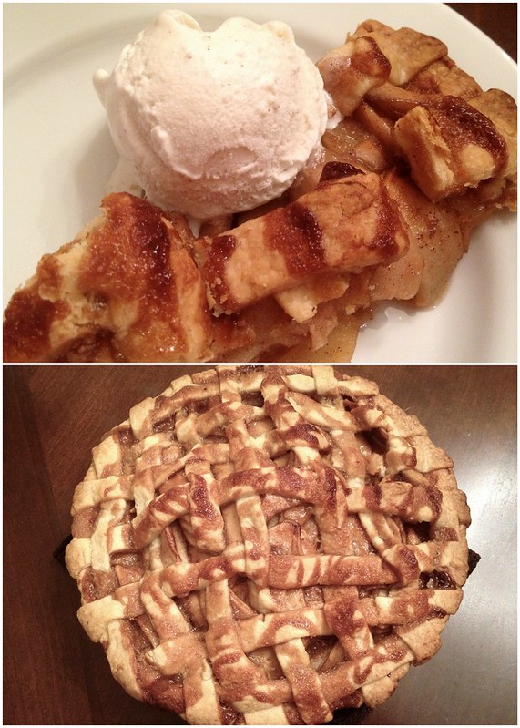 Caramel Apple Pie a la mode