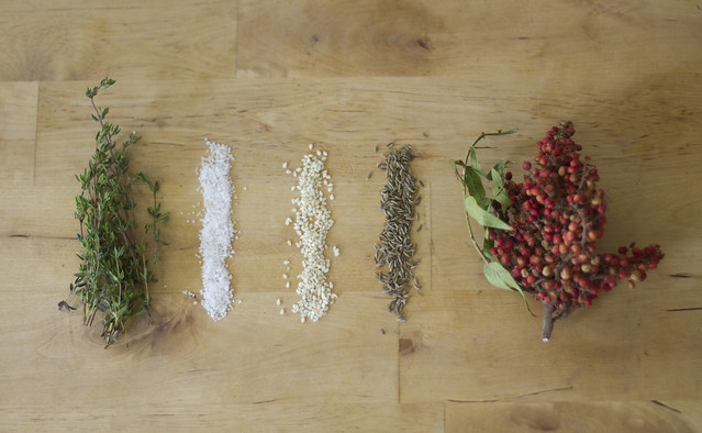 za'atar ingredients