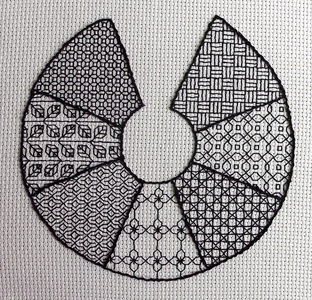 Blackwork Sampler FO