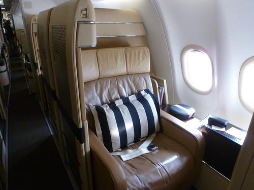 Etihad Airways Airbus 340-600 First Class Seat