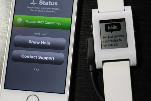 Pebble Firmware 2.0 Beta