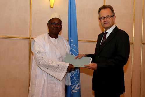 NEW PERMANENT REPRESENTATIVE OF GUINEA PRESENTS CREDENTIALS