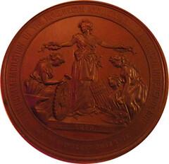 1876 Centennial commemorative medal obverse