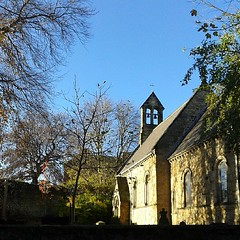 Our lovely chapel in the sun