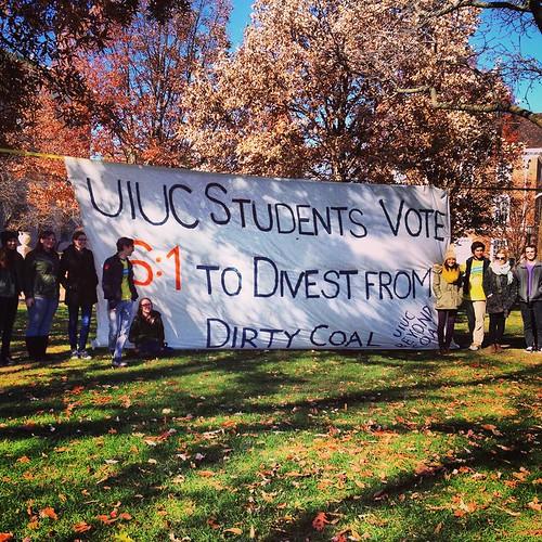 UIUC Votes to Divest