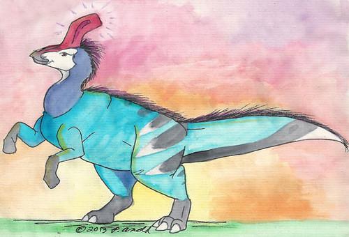 11.23.13 - Tsintaosaurus