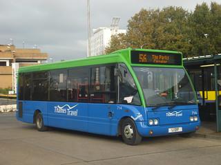 Thames Travel 714 on Route 156, Bracknell