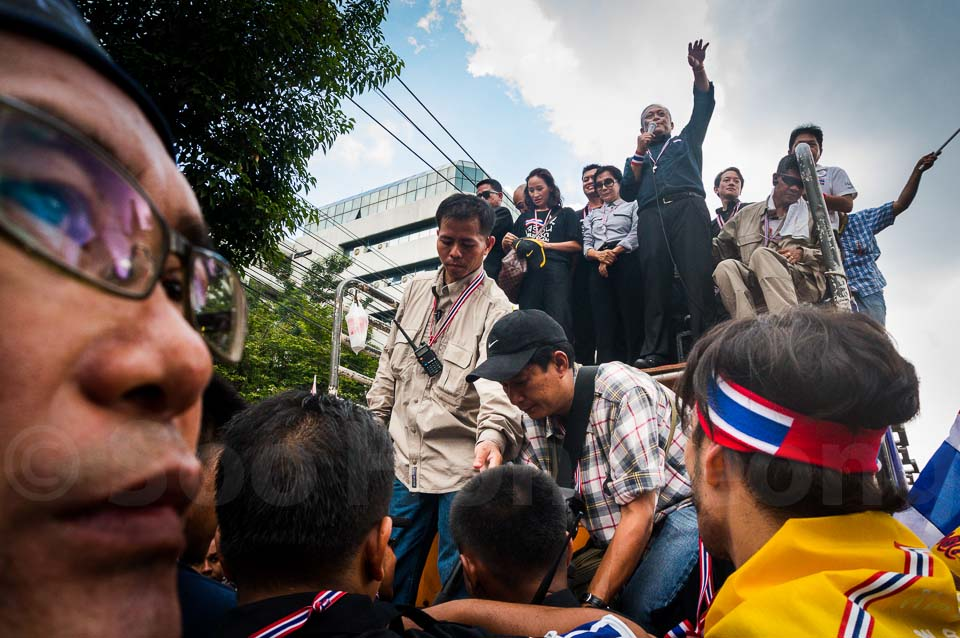 Anti Thaksin Regime Rally @ Bangkok, Thailand