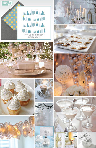 Holiday_Dinner_Party_Invitations_Decoration_Ideas_White_Silver
