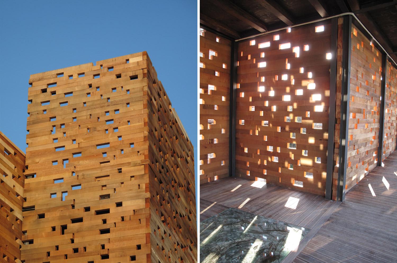 muralla vitoria_restauracion_madera_luz