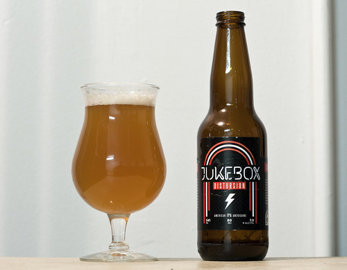 Review: Jukebox Distorsion American IPA by Cody La Bière