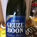 ベルギービール大好き!! ブーン・グーズ Boon Geuze 賞味期限2020年9月