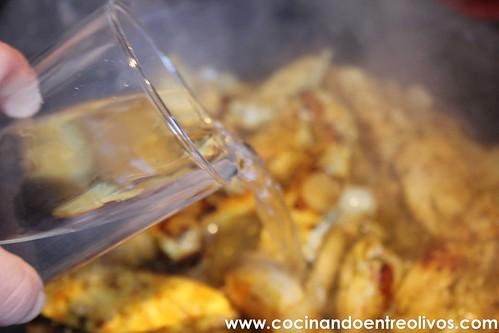 Pollo almendrado con miel www.cocinandoentreolivos (11)