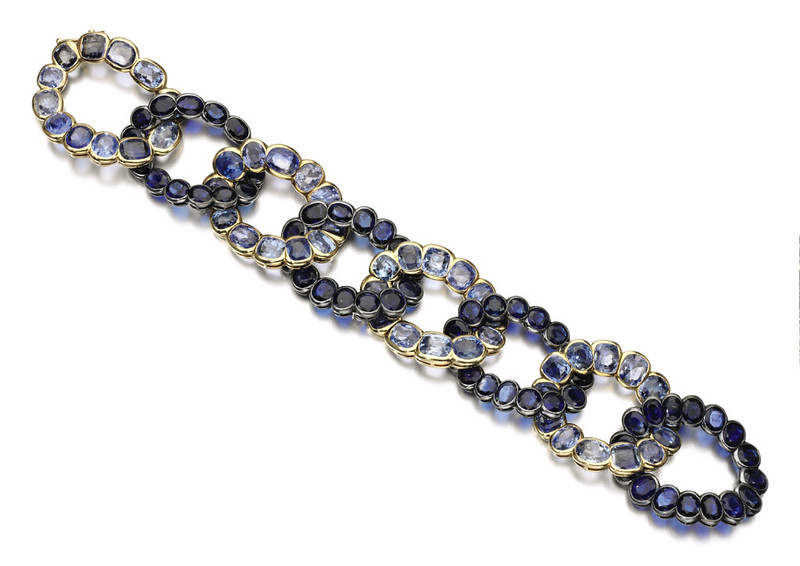 Lot 459 - Cartier Sapphire Bracelet - Duchess of Windsor-1.jpg