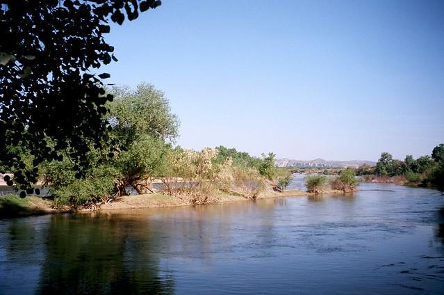 River Ebro from El Galacho de Juslibol, Zaragoza