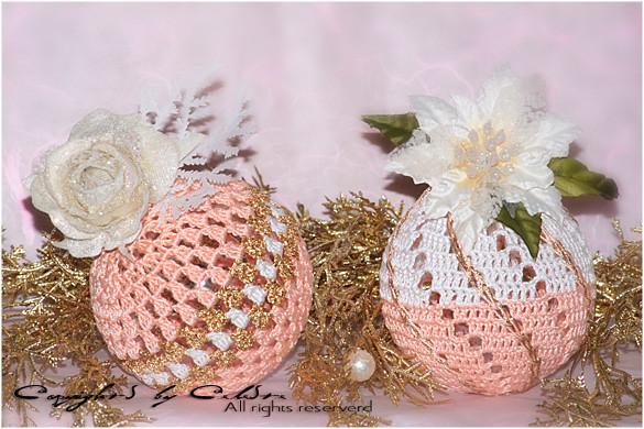 Uncinetto Palline Di Natale Crochet Su Temptations
