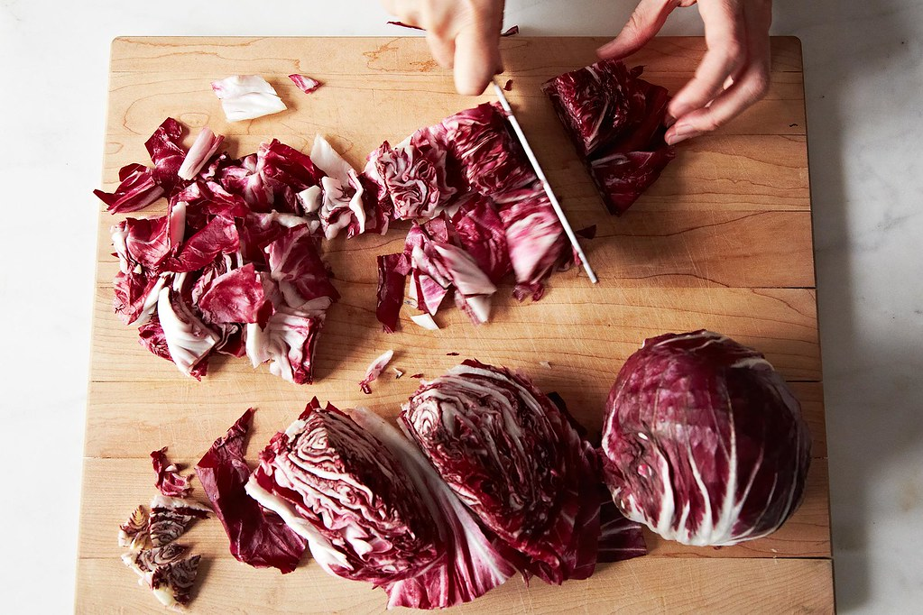 Toro Bravo's Radicchio Salad with Manchego Vinaigrette on Food52