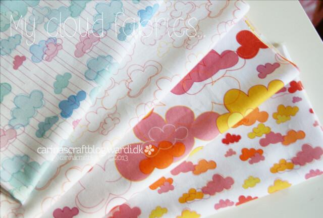 My cloud fabric designs