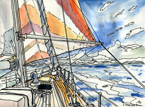 Transatlantic to Barbados 2013 by manfred schloesser