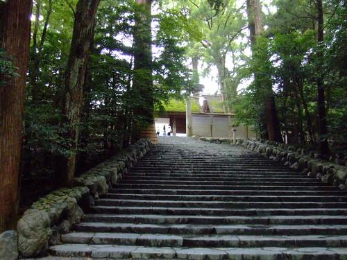 内宮・正宮前階段