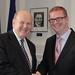 Min Noonan and Minister Hamilton