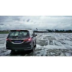 #honda #odyssey and the #airplane
