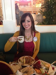 Tea Party at the Garden View Tea Room at Disney's Grand Floridian