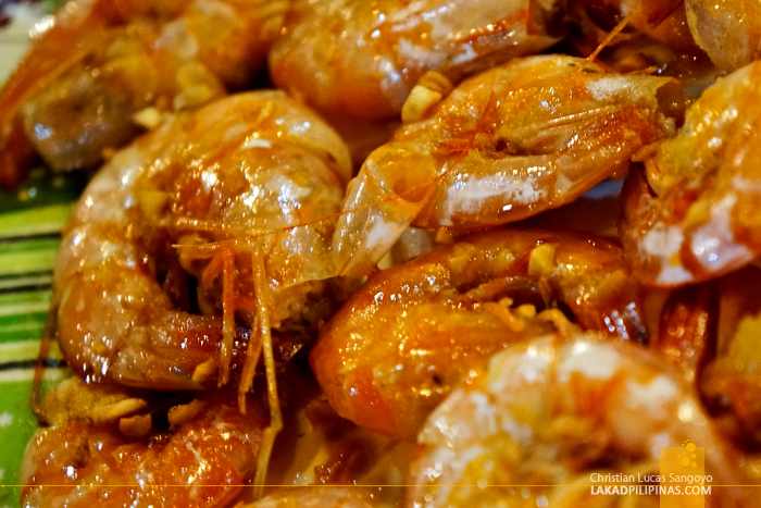 Shrimps at RML Manokan Haus Kamayan in Roxas City