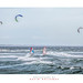 Windsurfers off Nobbys by Dave Whiteman - AU