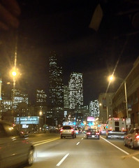 Evening Commute Scene:  Heading North Out of SODO Into Downtown Seattle (4th Avenue)