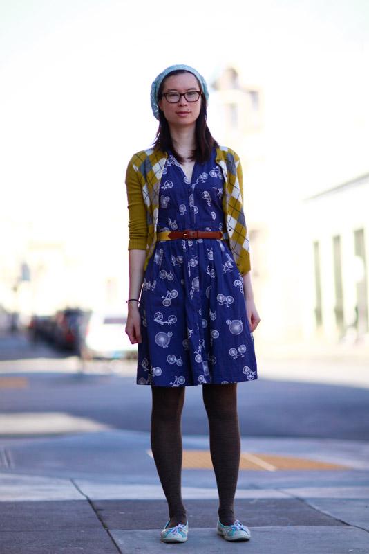 erica_sc Quick Shots, San Francisco, street fashion, street style, women, San Carlos Street