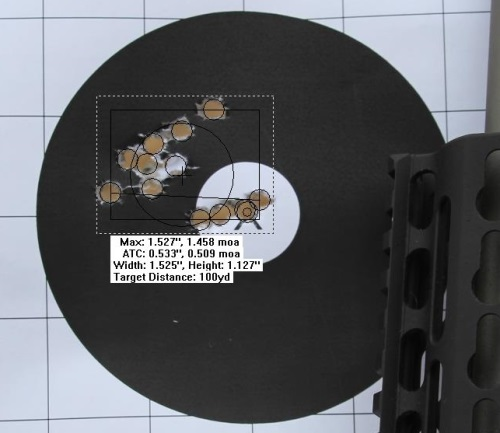12 Shot Noveske Federal XM193 1-25-14 100 Yards