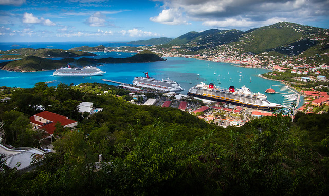 The Port of St. Thomas